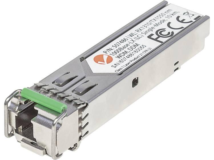Intellinet 507486 SFP-transceivermodule Type module LX