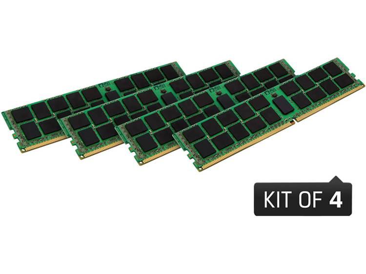 PC-werkgeheugen kit Kingston KVR24R17S8K4/16 KVR24R17S8K4/16 16 GB 4 x 4 GB DDR4-RAM 2400 MHz CL 17-17-17