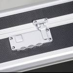 Aluminiumkoffer met rasterschuim 445 x 370 x 145