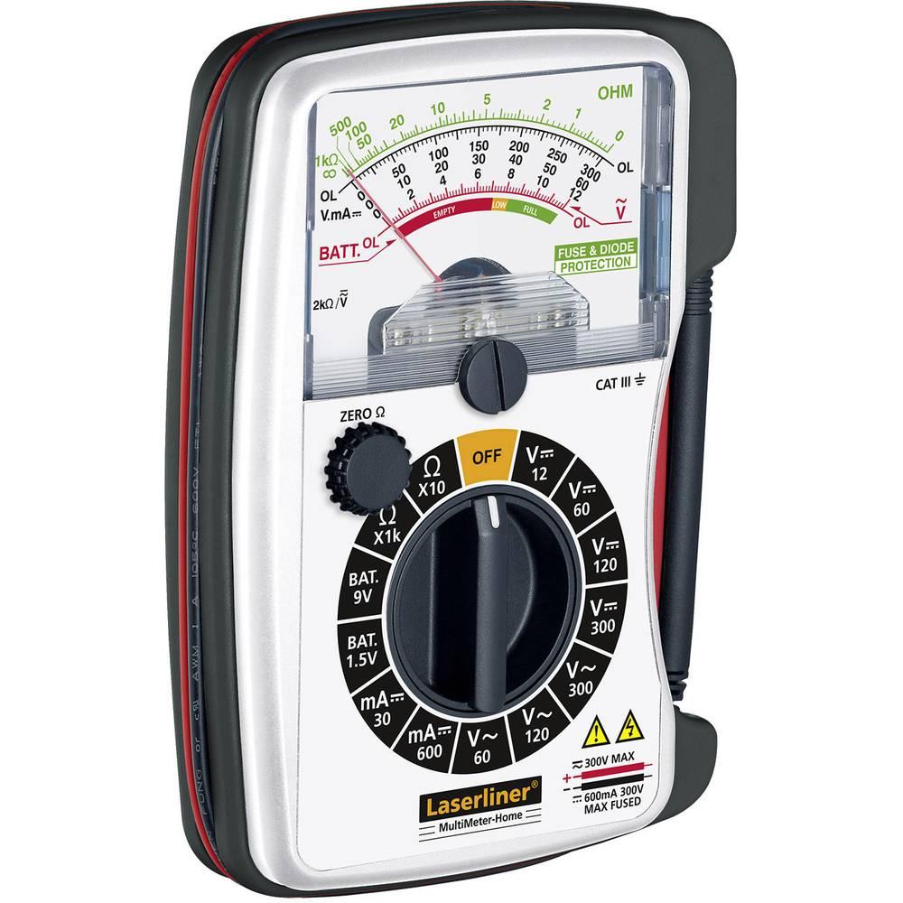 Laserliner MultiMeter Home Handmultimeter analog CAT III 300 V