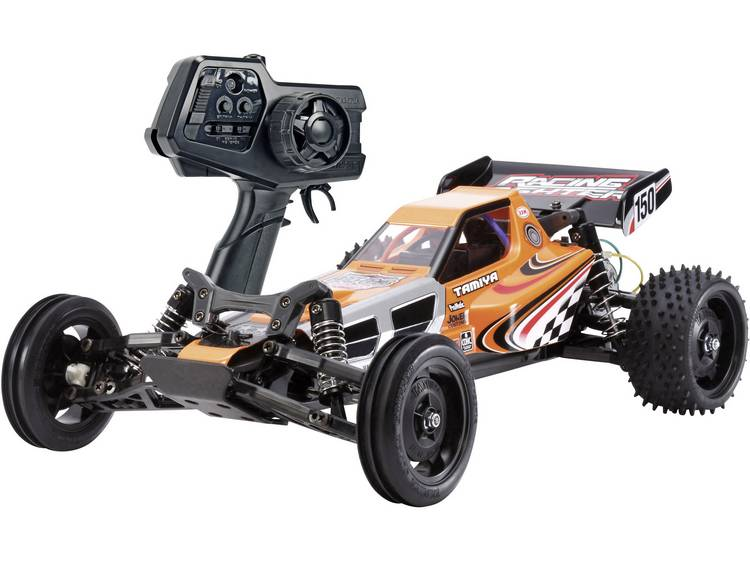Tamiya Racing Fighter 1:10 Brushed RC auto Elektro Buggy 4WD RTR 2,4 GHz