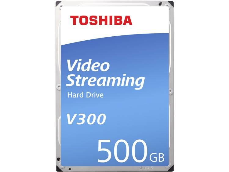 Toshiba HDWU105UZSVA Harde schijf (3.5 inch) 500 GB Bulk SATA III