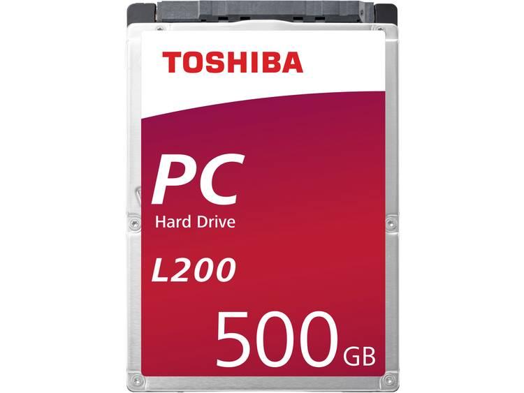 Toshiba L200 HDWK105UZSVA 500 GB Harde schijf (2.5 inch) SATA III