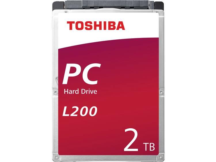 Toshiba L200 HDWL120UZSVA 2 TB Harde schijf (2.5 inch) SATA III