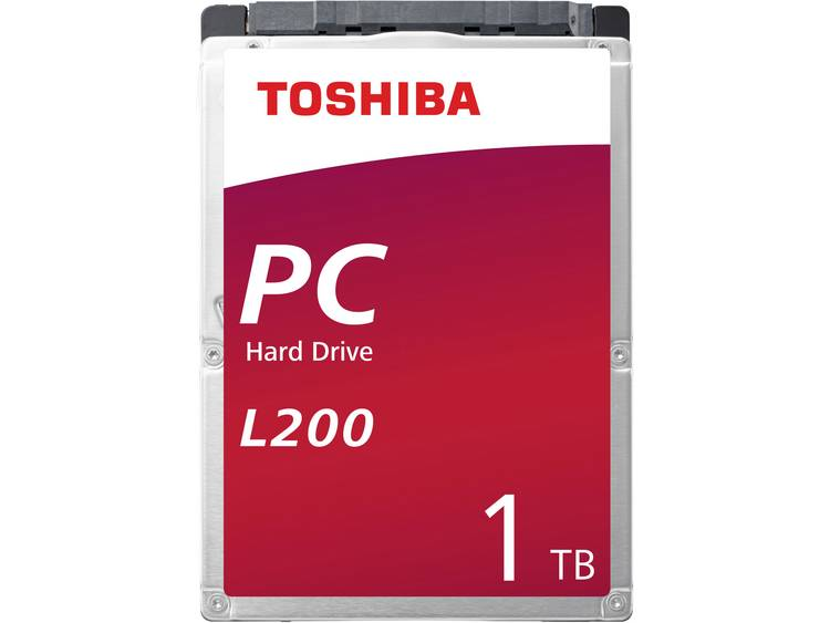 Toshiba L200 HDWL110EZSTA 1 TB Harde schijf (2.5 inch) SATA III