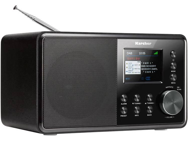 Karcher DAB 3000 DAB+ Tafelradio AUX Zwart
