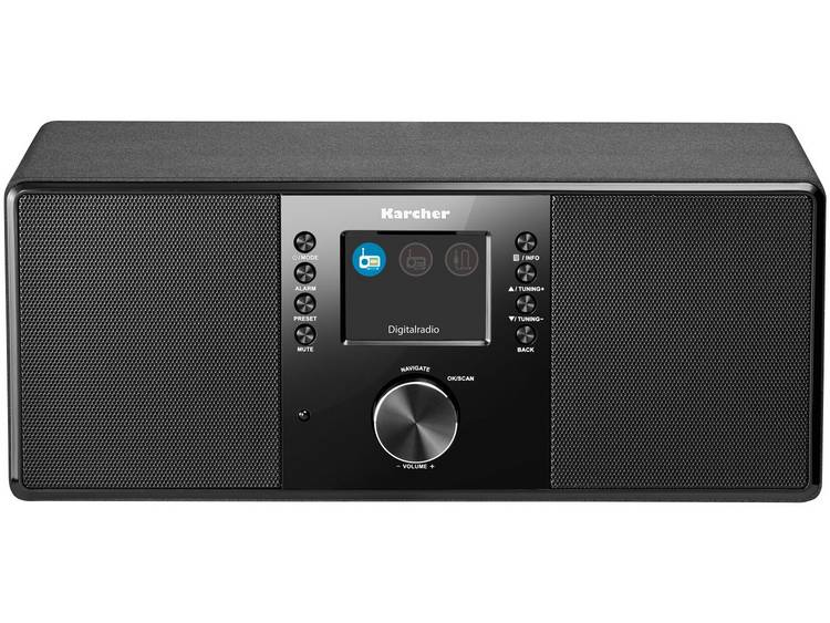Karcher DAB 5000 DAB+ Tafelradio AUX Zwart