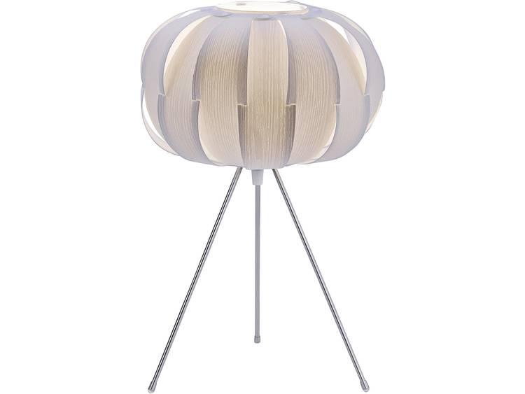 Vloerlamp LED E27 60 W LeuchtenDirekt Alissa 12143-16 Wit