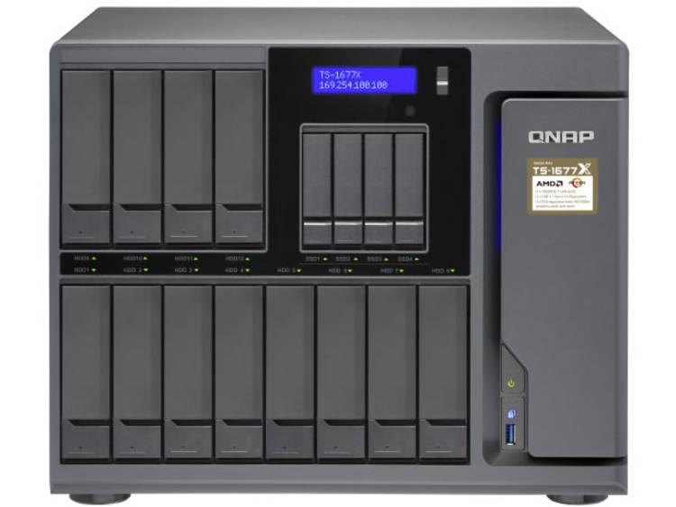 QNAP TS-1677X-1700-16G NAS-serverbehzuizing