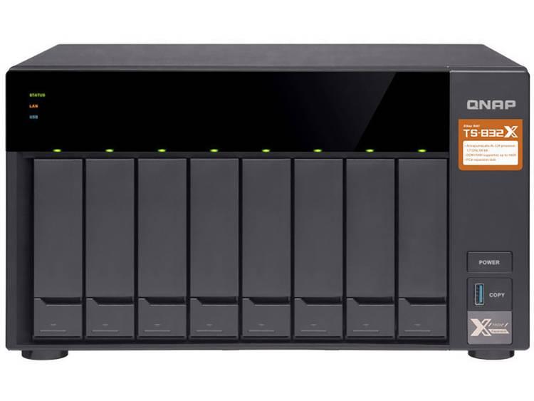QNAP TS-832X-2G NAS-serverbehzuizing