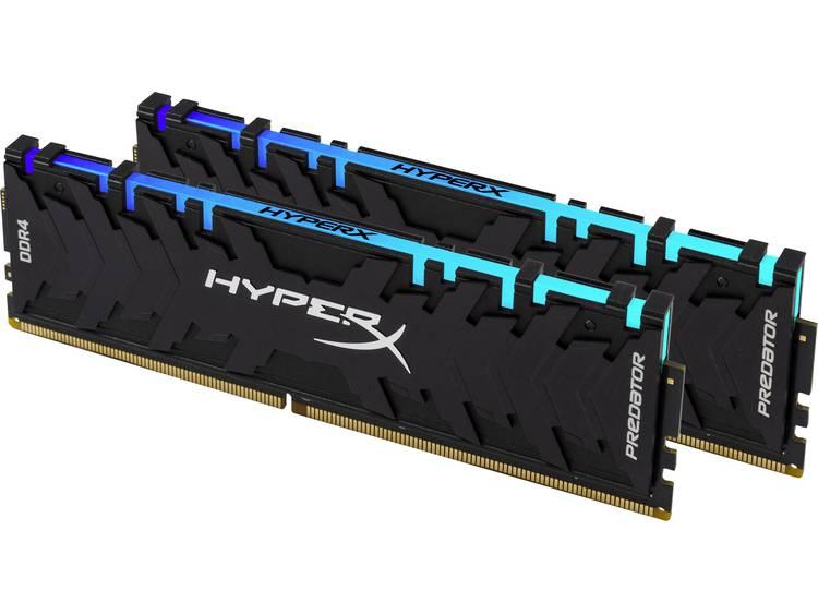 PC-werkgeheugen kit HyperX HX429C15PB3AK2/16 HX429C15PB3AK2/16 16 GB 2 x 8 GB DDR4-RAM 2933 MHz CL 15-17-17