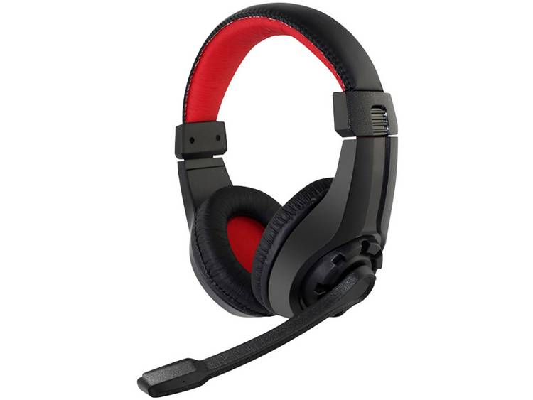 Gaming headset 3.5 mm jackplug Kabelgebonden Gembird GHS-01 On Ear Zwart