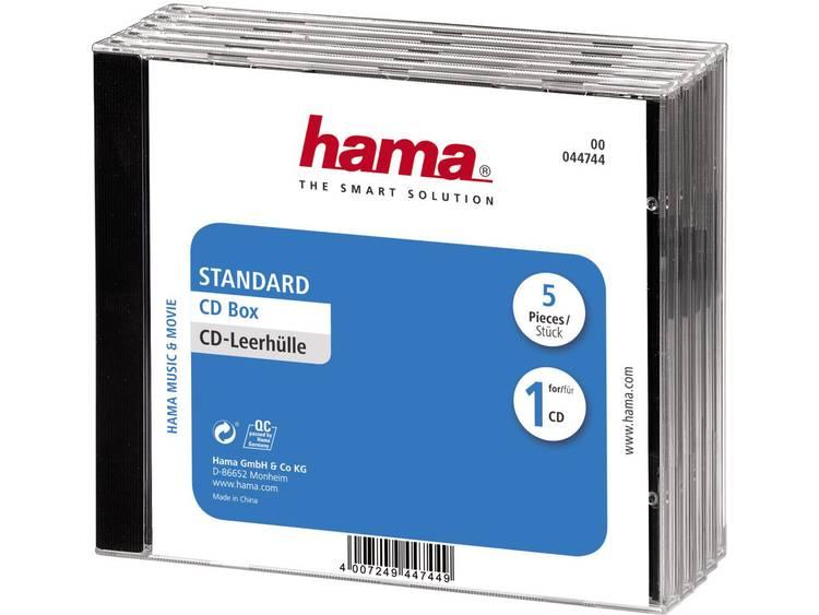 Hama Transparant, Zwart (b x h x d) 140 x 125 x 10.4 mm