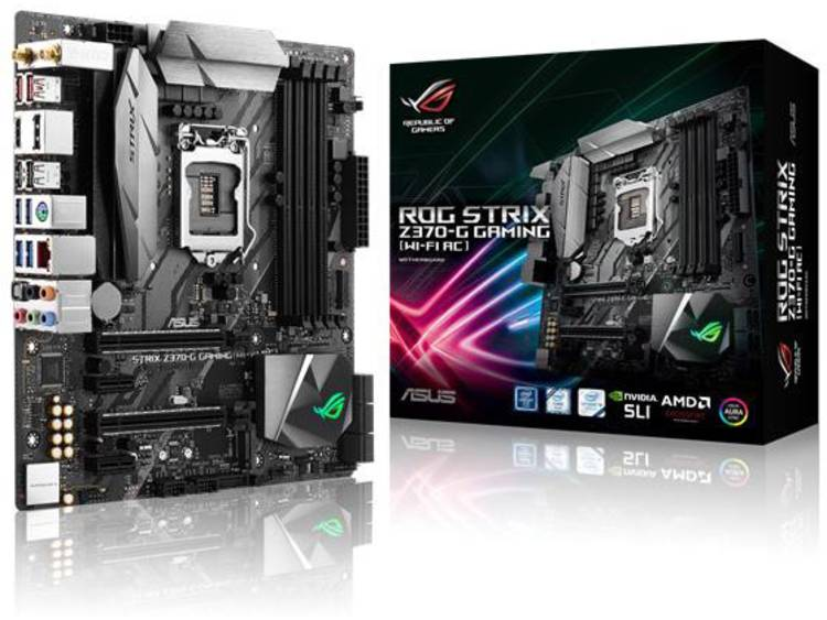 Asus ROG Strix Z370-G Gaming (Wi-Fi AC) Moederbord Socket Intel® 1151v2 Vormfactor Micro-ATX Moederbord chipset Intel® Z370