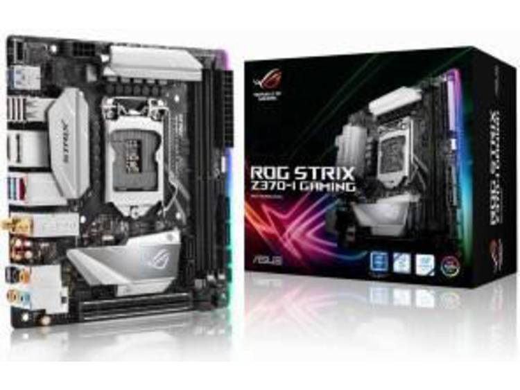 Asus ROG Strix Z370-I Gaming Moederbord Socket Intel® 1151v2 Vormfactor Mini-ITX Moederbord chipset Intel® Z370