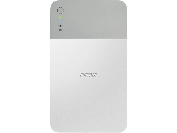 Buffalo MiniStation⢠Air2 1 TB WiFi harde schijf USB 3.0, WiFi 802.11 b/g/n Zilver