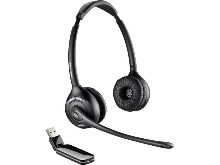 Plantronics Savi W420 USB Telefoonheadset Zwart