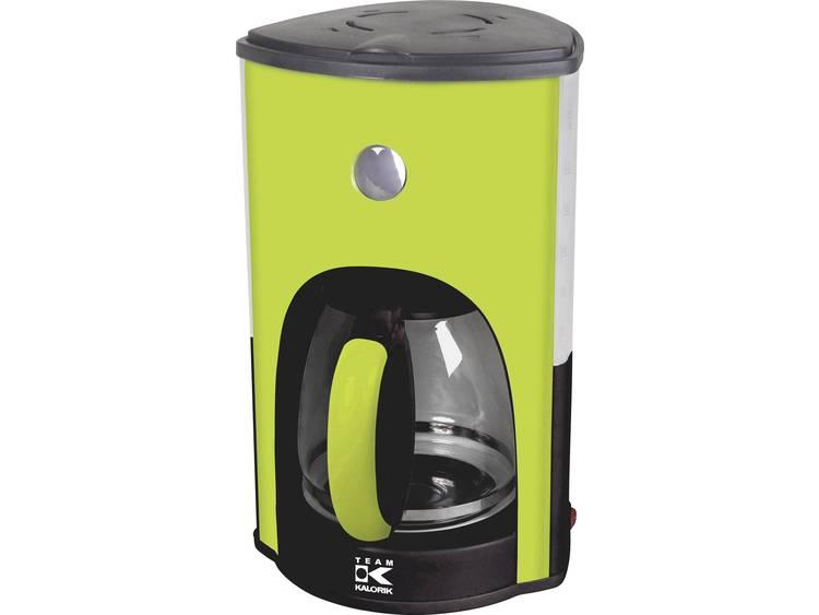 TKG Team Kalorik TKG CM 1045 AG Koffiezetapparaat Appelgroen Capaciteit koppen: 15 Glazen kan, Warmhoudfunctie - Prijsvergelijk
