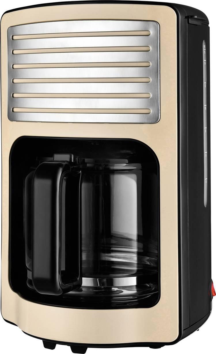 TKG Team Kalorik TKG CM 2500 Koffiezetapparaat Creme-wit Capaciteit koppen=15 Glazen kan