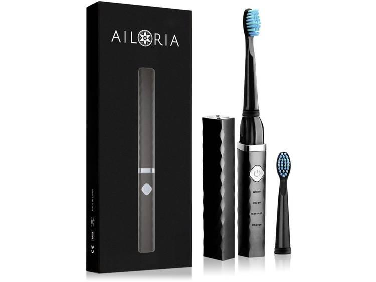 AILORIA FT-271B Elektrische tandenborstel Sonisch Zwart, Zilver