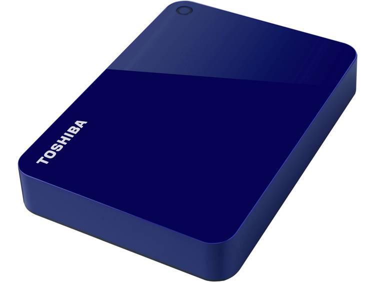 Toshiba Canvio Advance 4 TB Externe harde schijf (2.5 inch) USB 3.0 Blauw