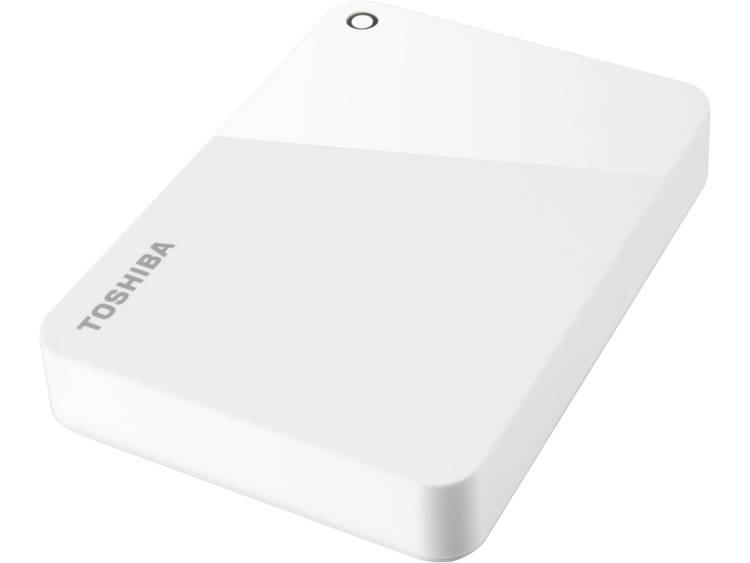 Toshiba Canvio Advance 4 TB Externe harde schijf (2.5 inch) USB 3.0 Wit