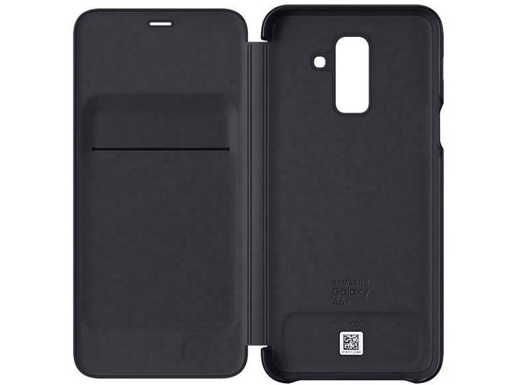 Samsung Galaxy A6+ (2018) Wallet Cover EF-WA605CBEGWW Zwart