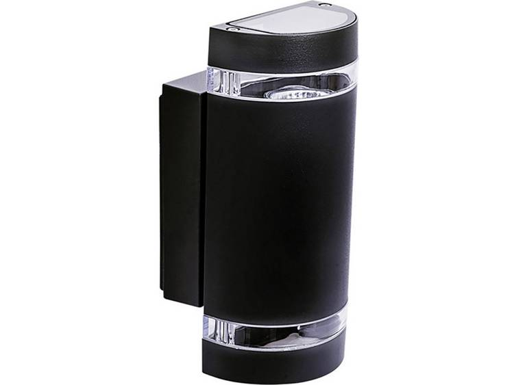 Buitenwandlamp GU10 70 W Kanlux Zew 22441 Zwart
