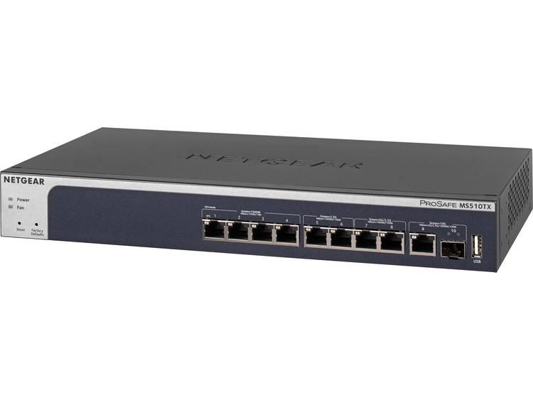 NETGEAR MS510TX Netwerk switch RJ45/SFP 10 poorten