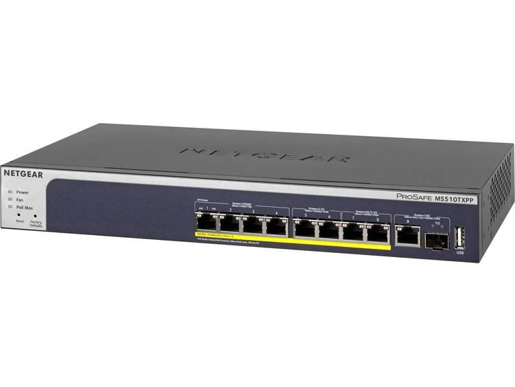 NETGEAR MS510TXPP Netwerk switch RJ45/SFP 10 poorten