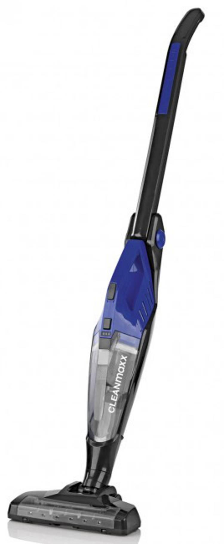 Image of Accu-handstofzuiger CleanMaxx Zwart, Blauw
