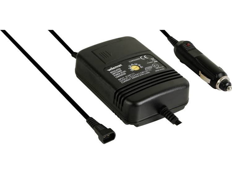 Velleman Adapter Auto Spanningsomvormer 2000ma