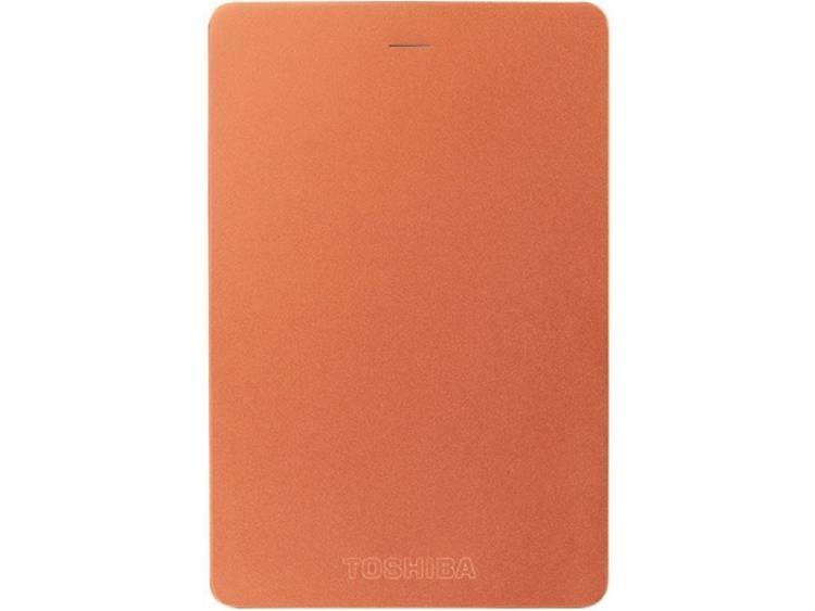 Toshiba Canvio Alu 1 TB Externe harde schijf (2.5 inch) Rood