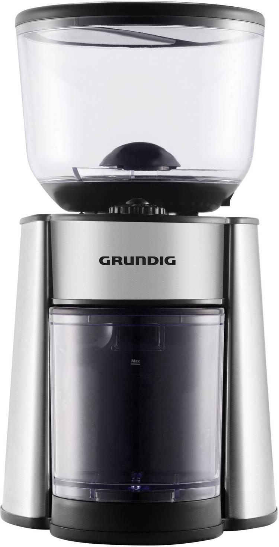 Image of Koffiemolen Grundig CM 6760 RVS, Zwart GMS2060 RVS maalwerk