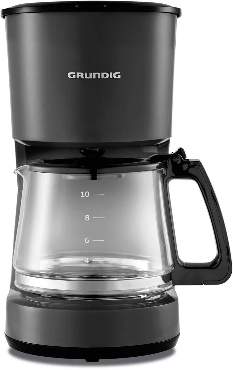 Image of Koffiezetapparaat Grundig KM 4620 Zwart Capaciteit koppen=10 Glazen kan, Warmhoudfunctie