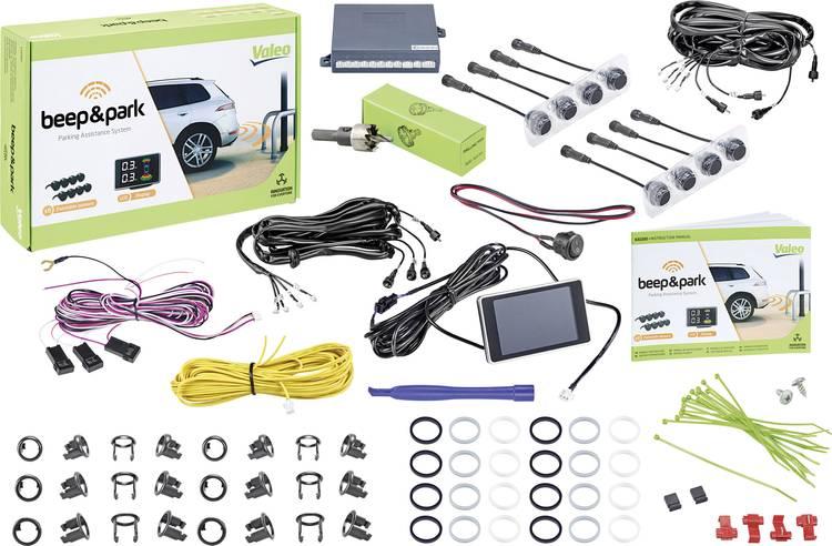Image of Valeo Beep & Park KIT3 Kabelgebonden parkeersensoren Voorkant, Achterkant optisch, akoestisch