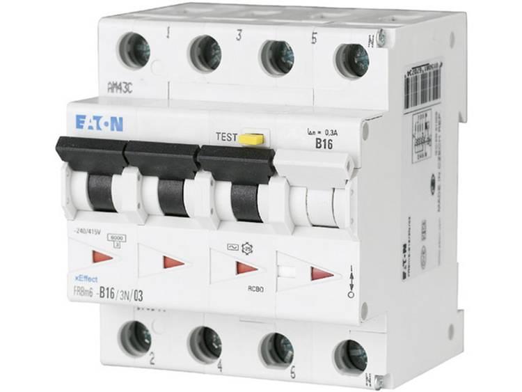 Eaton 170955 Aardlekschakelaar-zekeringautomaat 4-polig 10 A 0.3 A 415 V-AC