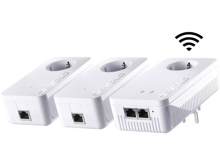 Devolo 1200+ Powerline WiFi netwerkkit 1200 Mbit/s