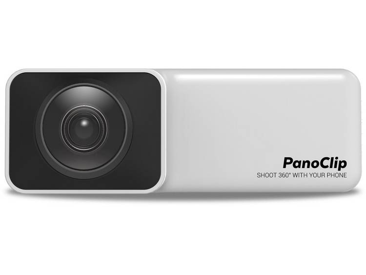 PanoClip für iPhone 7 & 8 360 graden panorama camera Wit, Zwart 360° kopen