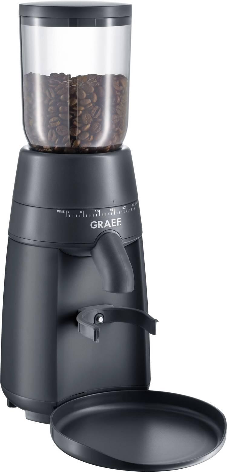 Image of Koffiemolen Graef CM702EU Zwart CM702EU Metalen kegelmaalwerk