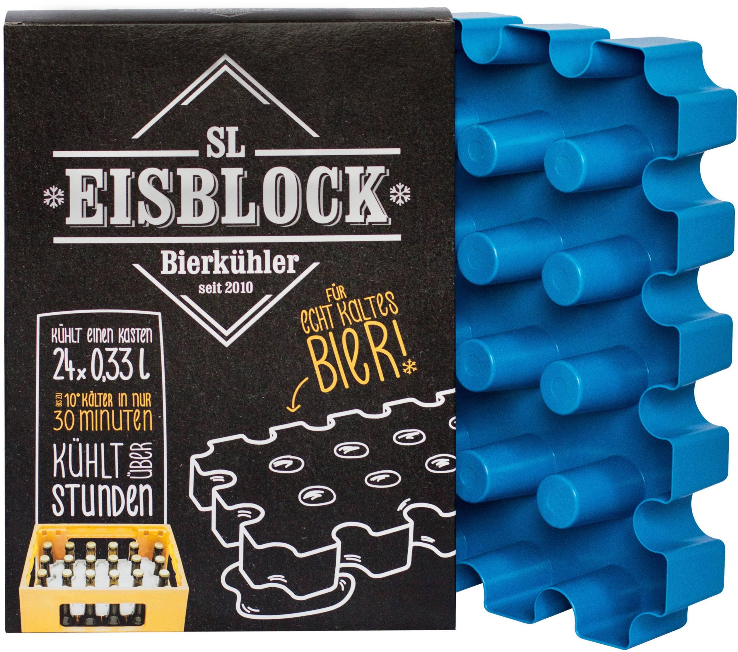 Sl Eisblock 24x033l Flessenkoeler Contact Blauw
