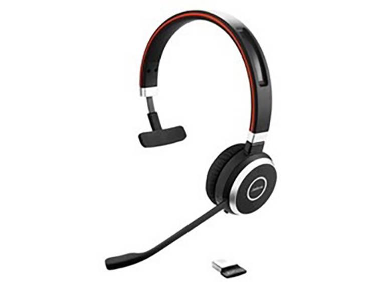 Jabra Evolve 65 MS USB Telefoonheadset Zwart, Zilver