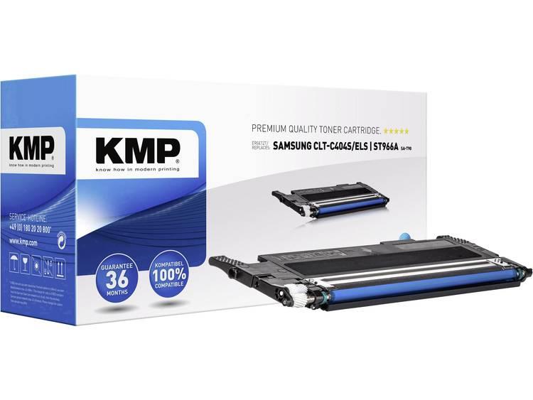 KMP Tonercassette vervangt Samsung CLT C404S C404 ST966A Compatibel Cyaan 1000