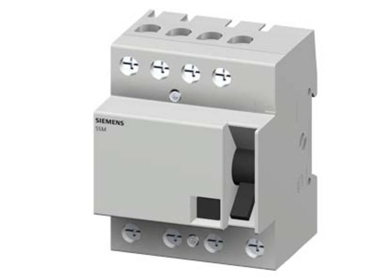 Siemens aardlekschakelaar 40a 4p kl b