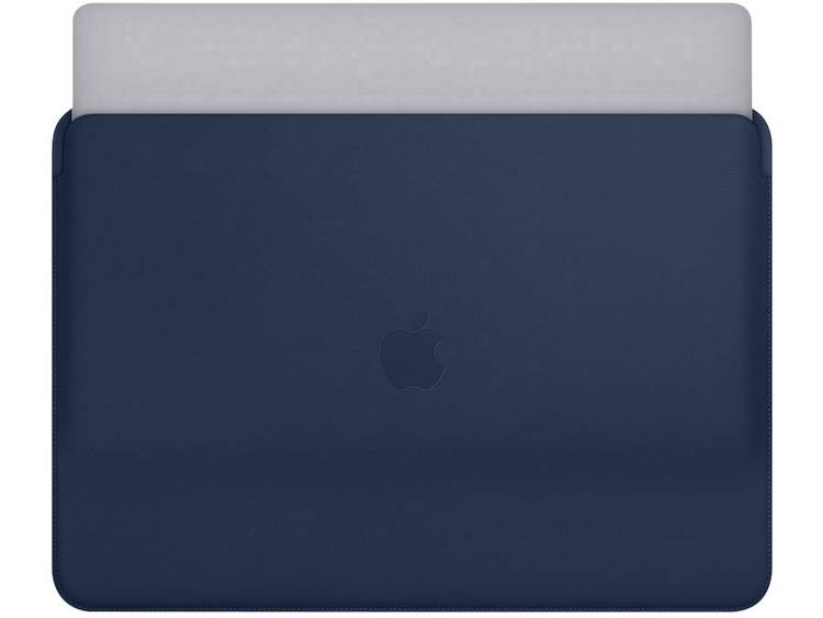 Apple Laptophoes Lederhülle Middernachtsblauw