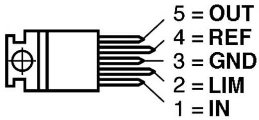 Spanningsregelaar - lineair STMicroelectronics L200CV Positief Instelbaar 2.85 V 2 A Pentawatt 5