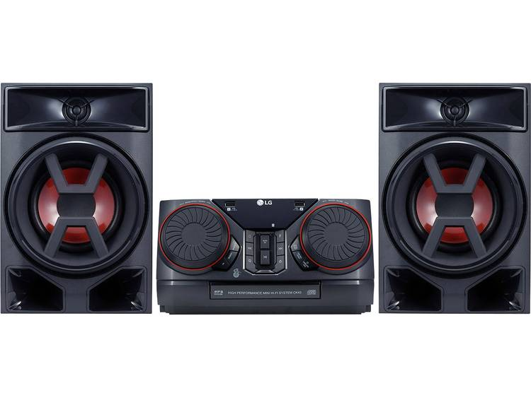 LG CK43 stereoset (bluetooth, FM-tuner met RDS, 300 W)