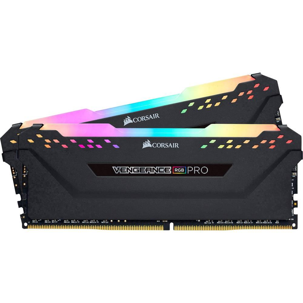Corsair Internminne Desktop Kit Vengeance® RGB PRO CMW16GX4M2Z2933C16 16 GB 2 x 8 GB DDR4 2933 MHz CL16 18-18-36