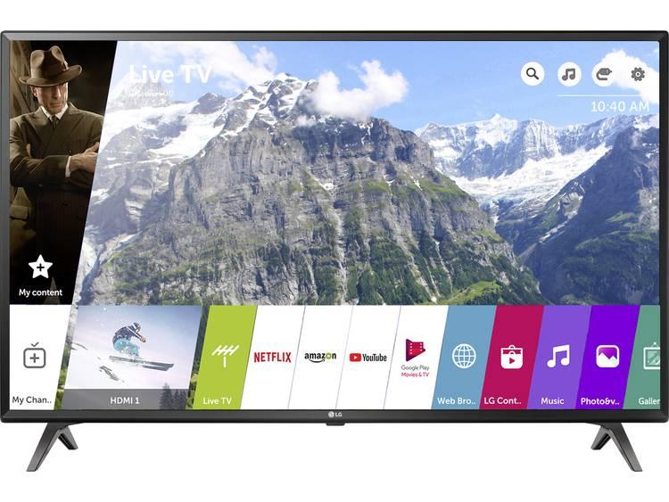 LG Electronics 65UK6300 LED-TV 164 cm 65 inch Energielabel: A (A++ – E) DVB-T2, DVB-C, DVB-S, UHD, Smart TV, WiFi, PVR ready Zwart