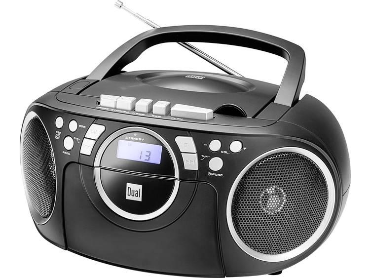 Dual P 70 FM CD-radio AUX, CD, Cassette, FM Zwart